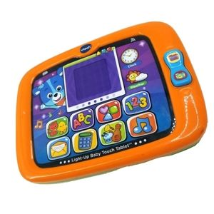 Vtech Light Up Baby Touch Toy Music Tablet Learnin